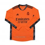 Maillot Real Madrid Gardien Exterieur Manches Longues 2020-2021