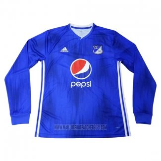 Maillot Millonarios Domicile Manches Longues 2019