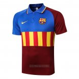 Polo FC Barcelone 2020-2021 Bleu Y Brown