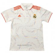 Polo Real Madrid 2020-2021 Blanc