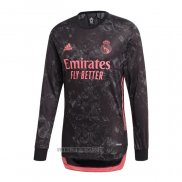 Maillot Real Madrid Third Manches Longues 2020-2021