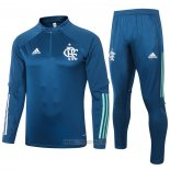 Ensemble Survetement Sweat Flamengo 2020-2021 Bleu
