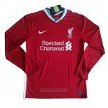 Maillot Liverpool Domicile Manches Longues 2020-2021