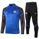 Ensemble Survetement Sweat Inter Milan 2020-2021 Bleu