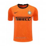 Maillot Inter Milan Gardien 2020-2021 Orange