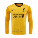 Maillot Liverpool Gardien Manches Longues 2020-2021 Jaune