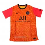 Thailande Maillot Paris Saint-Germain Gardien 2020-2021 Orange