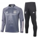 Ensemble Survetement Sweat Allemagne 2020 Gris